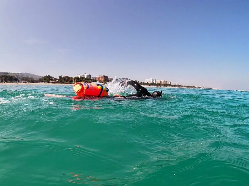 open water swimming equipment