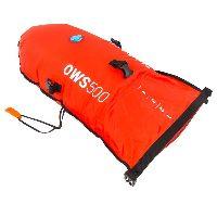 Bouée de nage en eau libre avec sac